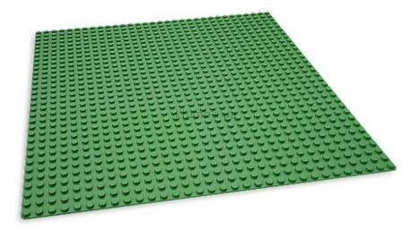 Детская игрушка Lego Bricks More Базовая строительная доска зеленая  (626)