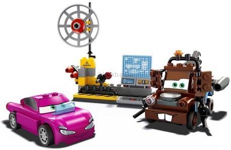 Детская игрушка Lego Cars 2 Шпионский штаб Мэтра (8424)