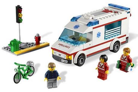 игрушки Lego City Машина