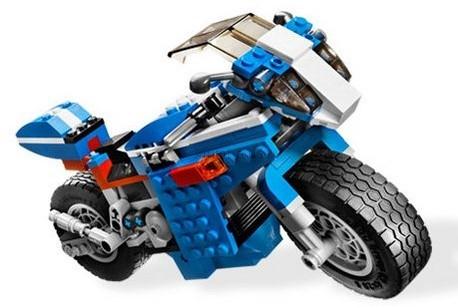 Детская игрушка Lego Creator Отчаянный гонщик (6747)