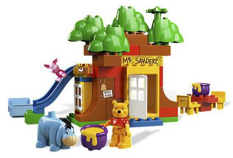 Детская игрушка Lego Duplo Дом медвежонка Винни (5947)