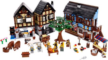 Детская игрушка Lego Exclusive Средневековый деревенский  рынок (10193)
