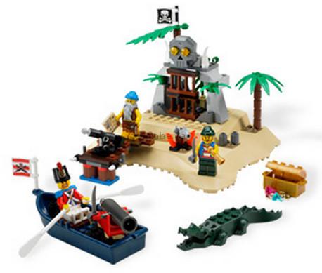Детская игрушка Lego Pirates Остров сокровищ (6241)