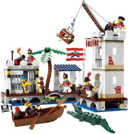 Детская игрушка Lego Pirates Солдатский форт (6242)