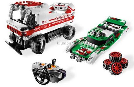Детская игрушка Lego Racers Двойняшки Х-трим RC (8184)