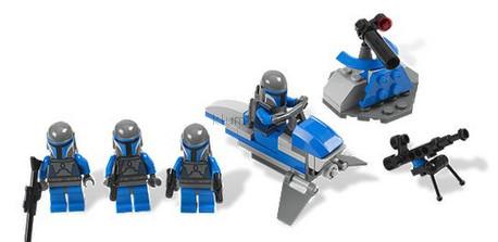 Детская игрушка Lego Star Wars Боевой отряд Мандалориан (7914)