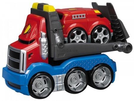 Детская игрушка MEGA Bloks Автомобиль транспортировщик Спасатели