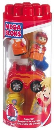 Детская игрушка MEGA Bloks Гонки, набор в тубе