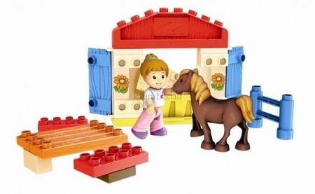 Детская игрушка MEGA Bloks Город, Конюшня