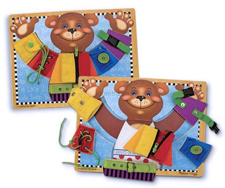 Детская игрушка Melissa&Doug Доска  Застежки