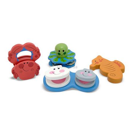 Детская игрушка Melissa&Doug Погремушки  Морская симфония