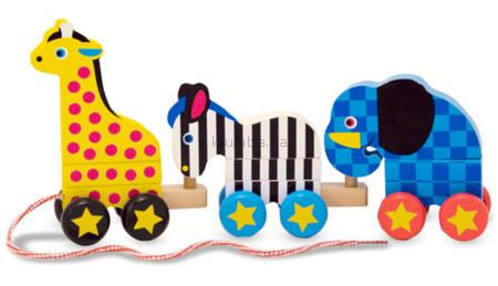 Детская игрушка Melissa&Doug Зоопарк-паровозик