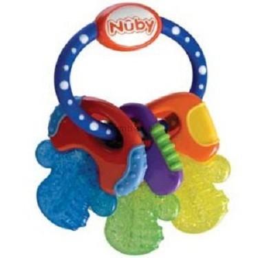 Детская игрушка Nuby Прорезыватель  Ключики