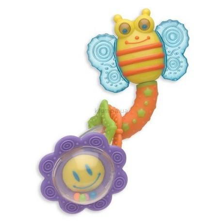 Детская игрушка Playgro Погремушка-твистер с прорезывателями