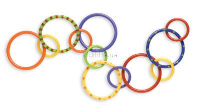 Детская игрушка Playgro Разноцветные кольца - прорезыватели