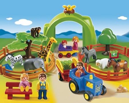 Детская игрушка Playmobil Большой зоопарк