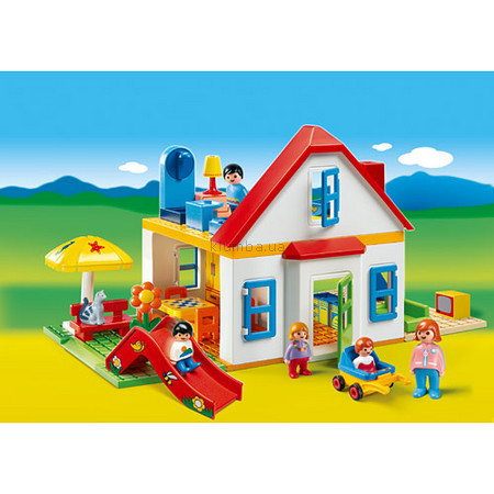 Детская игрушка Playmobil Домик с горкой