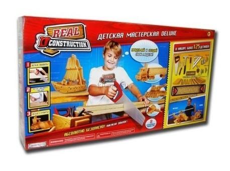 Детская игрушка Real Construction  Набор  Моя мастерская deluxe