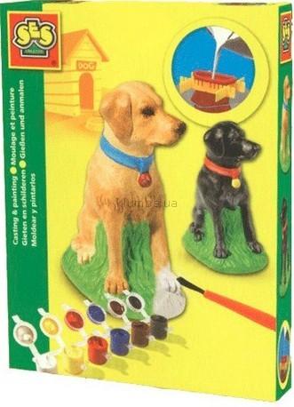 Детская игрушка Ses Набор для создания гипсовой фигурки Лабрадор