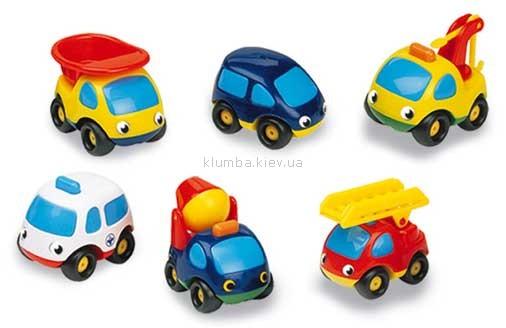 Детская игрушка Smoby Мини-машинка в блистере Vroom Planet
