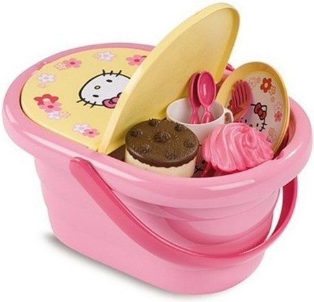 Детская игрушка Smoby Набор для пикника Hello Kitty
