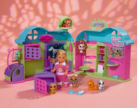 Детская игрушка Steffi Love Ева и Spa-центр для животных