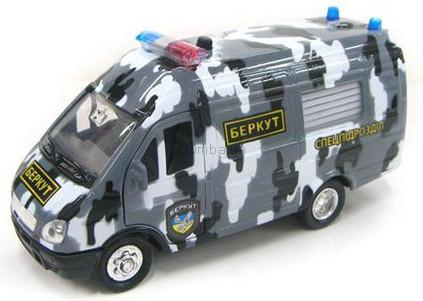 Детская игрушка Технопарк Автомодель Газель Омон