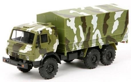 Детская игрушка Технопарк Автомодель  Камаз военный