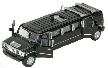 Детская игрушка Технопарк Автомодель Лимузин (черный)