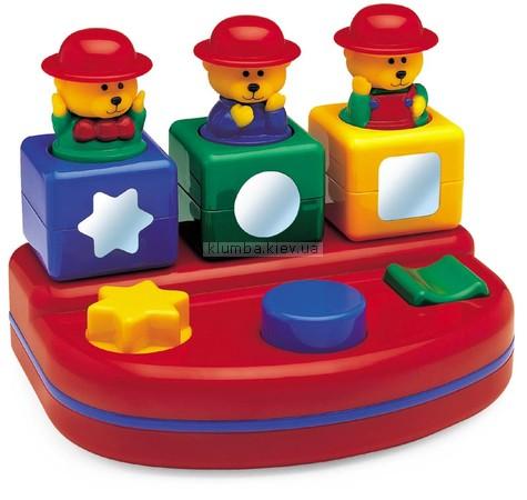 Детская игрушка Tolo Сортер Выпрыгивающие медвежата