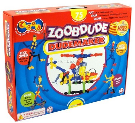 Детская игрушка Zoob Zoob Dude, Dudemaker
