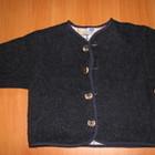 Универсальная курточка из натуральной шерсти для улицы и дома 8-36мес.