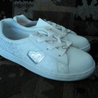 Фирменные кроссовки (спортивные, теннисные туфли) Roxy, кожа, 23см и 24см новые. Оригинал