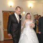 Продам свадебное платье размер 46-48.