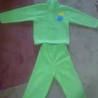 Спортивный флисовый тепленький костюмчик(рост 110-116см)