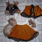 Карнавальный костюм Белочки (Лисички), 3 - 5 лет. Прокат.