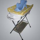 Детская ванночка с подставкой, матрасиком для пеленания