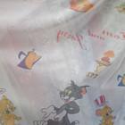 Детская тюль с Микки Маусом и Винни Пухом
