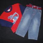 Стильные джинсы Early Days на 18-23 мес,рост 86-92 см.
