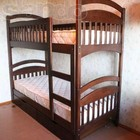 Двухъярусная деревянная кроватка - трансформер - здоровье и комфорт
