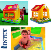 Новинка!!!!Детский надувной безопасный домик для игры на улице и во дворе