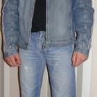продам стильную курточку мужскую джинсовую утепленная