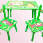 Столик детский Маша и Медведь и два стульчика, столик со стульчиком детский, для ребенка