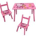 Столик и два стульчика Китти, Hello Kitty