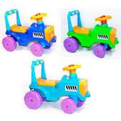 Детская прогулочная машинка Каталка Беби трактор Orion 931
