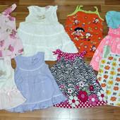 Фирменные летние платья, туники, сарафаны