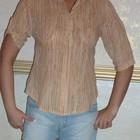 фирменная котоновая блузка с камнями