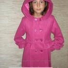 Пальто кашемировое для девочки 3-х лет!Новое!МАЛИНА!!!