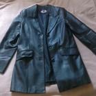 Женский кожанный пиджак