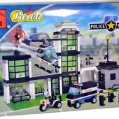 Детский конструктор 110 Полиция, Brick, Брик , 430 деталей